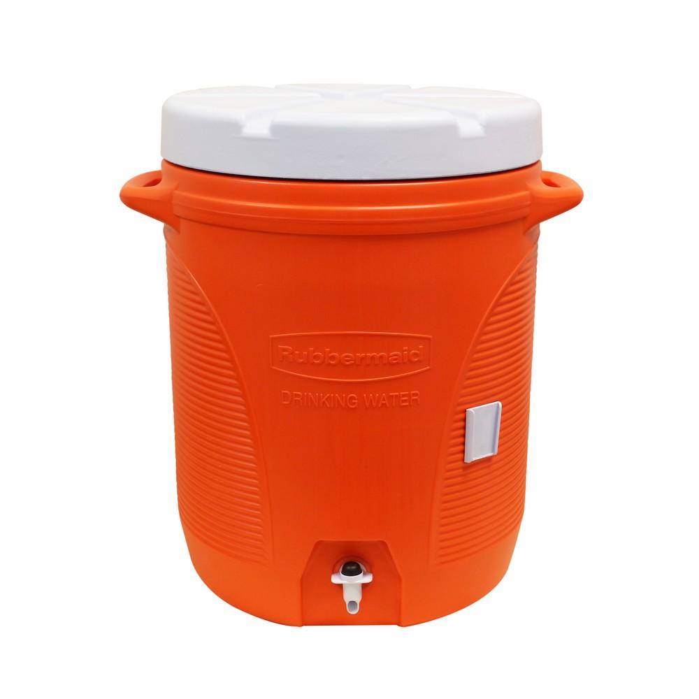 Termo insulado 10 gal naranja rubbermaid