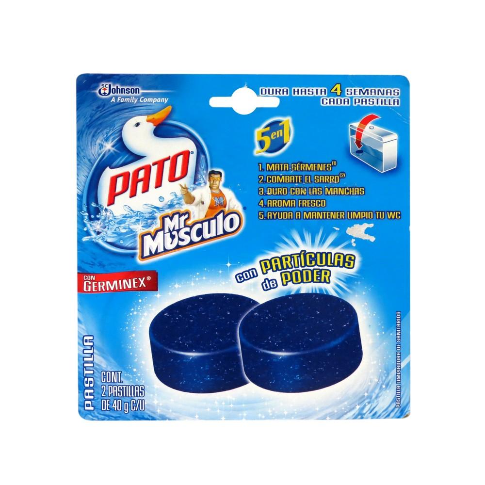 Desodorante en pastilla mr musculo 2 pzas