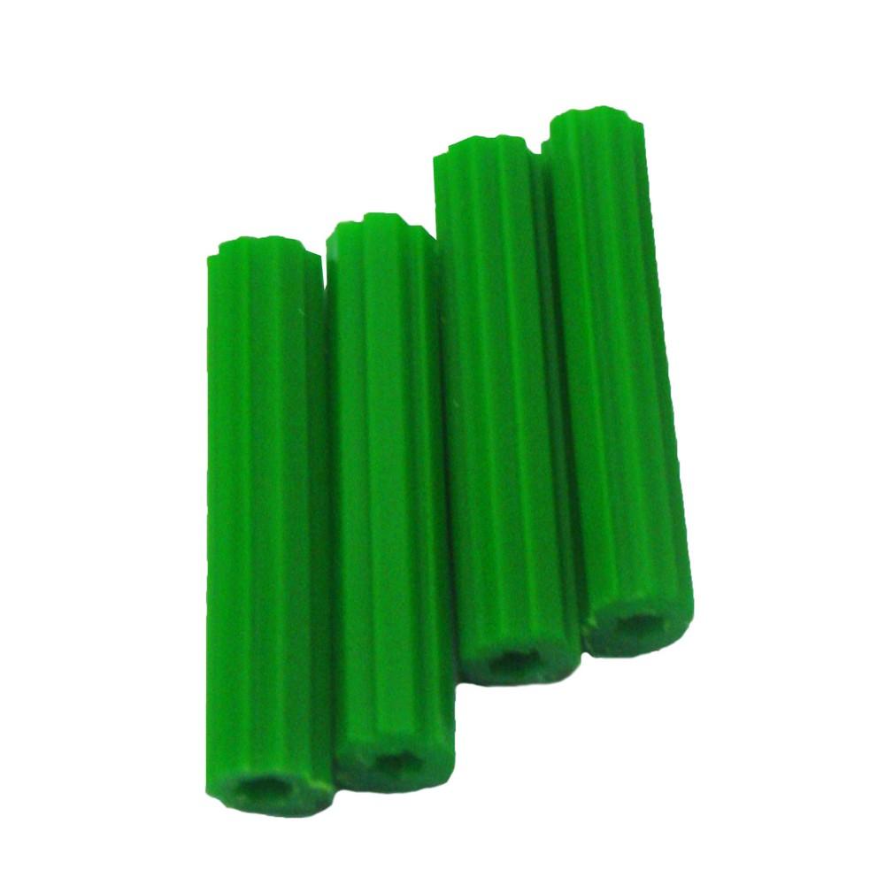 Ancla plastica 7mmx1.1/4 pulg set 100 pzas