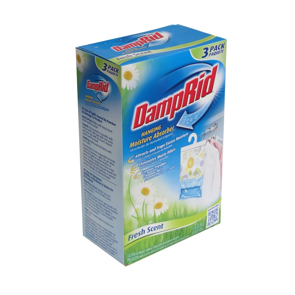 Eliminador de humedad damp rid 3 pzas