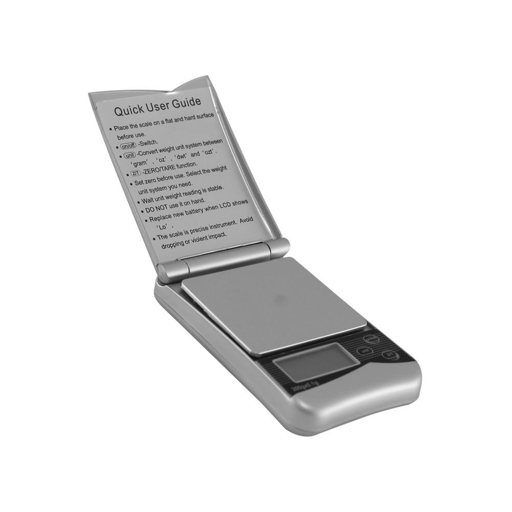 Bascula de bolsillo digital 500 gr
