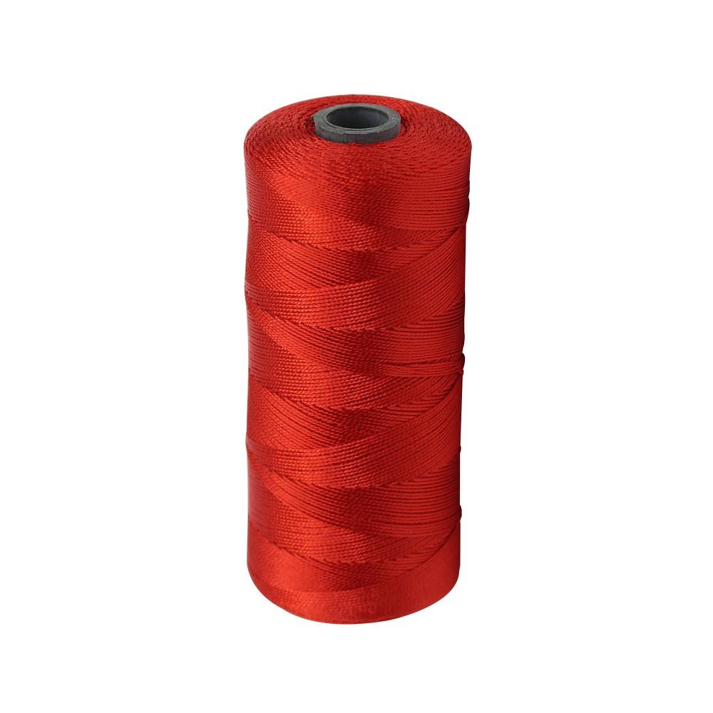 Hilo nylon rojo no.6