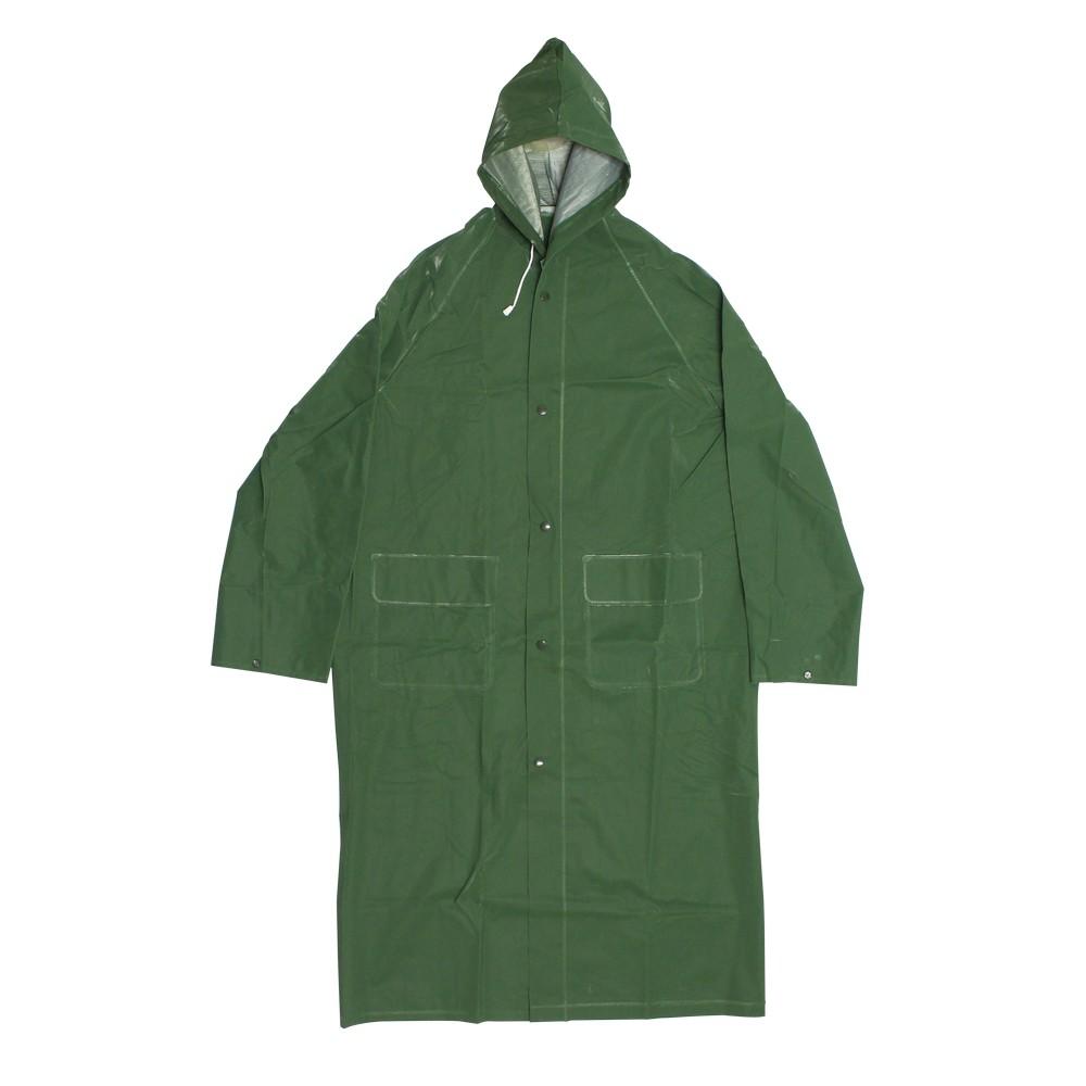 Capa para lluvia 1pza 0.35mp verde ts201-xxl
