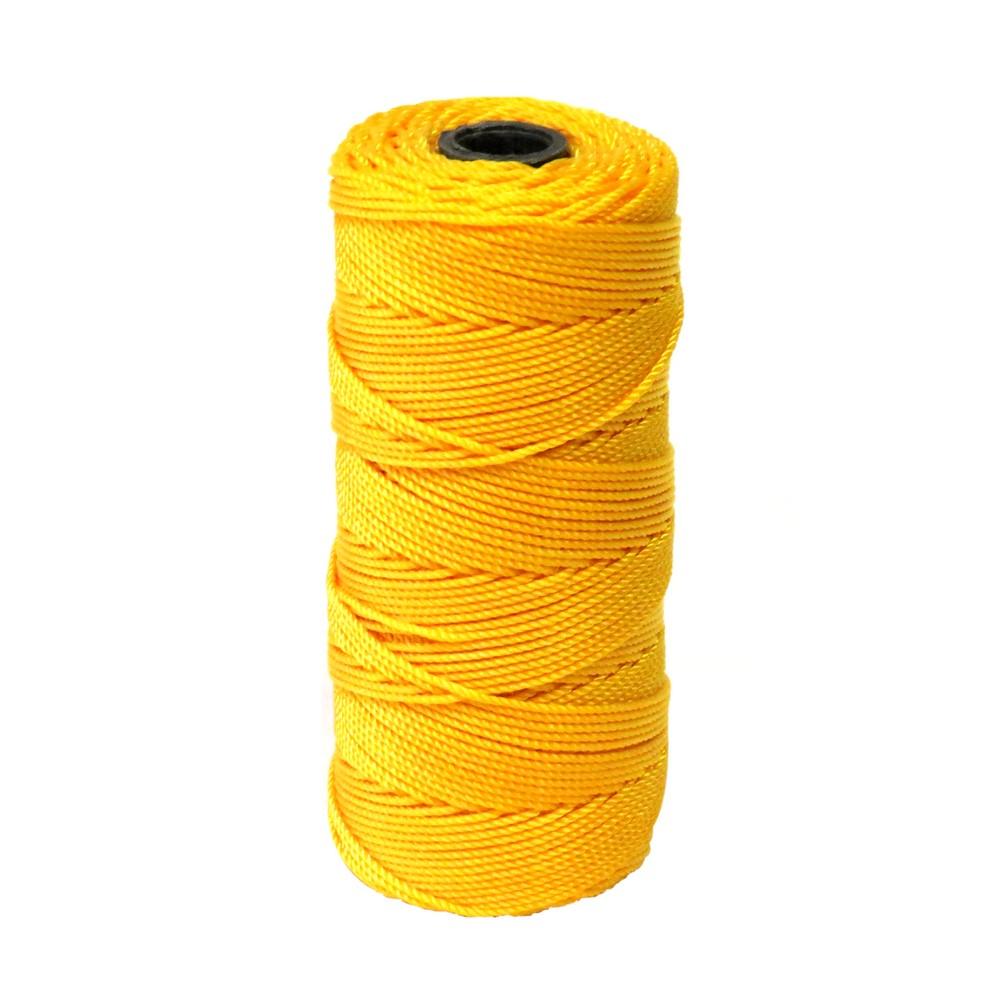Hilo nylon amarillo no.30