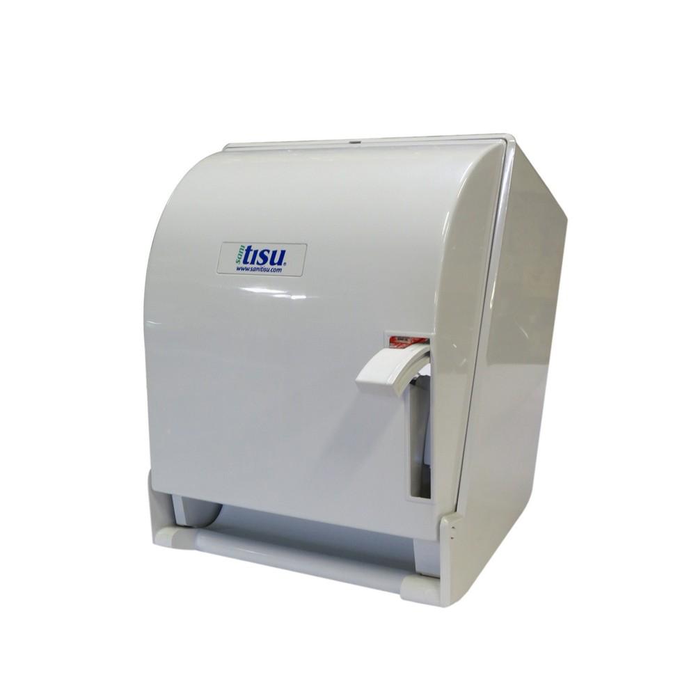 Dispensador de papel toalla con palanca dispensadores de for Dispensadores para banos