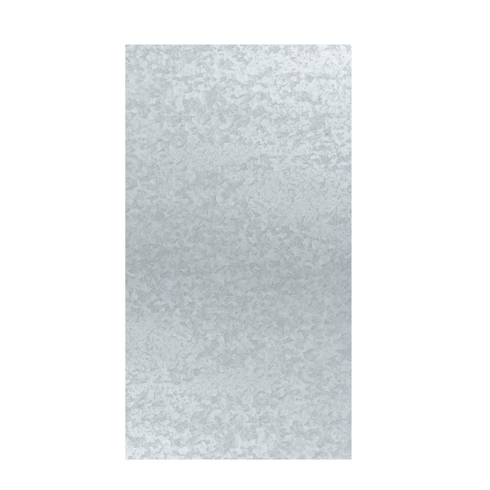 Lámina galvanizada lisa 2x1 yarda calibre 28 (0.32mm)