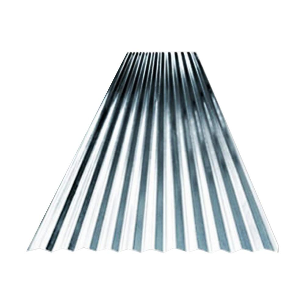 Lamina galvanizada canal 2x1 yda #32 (0.17mm)