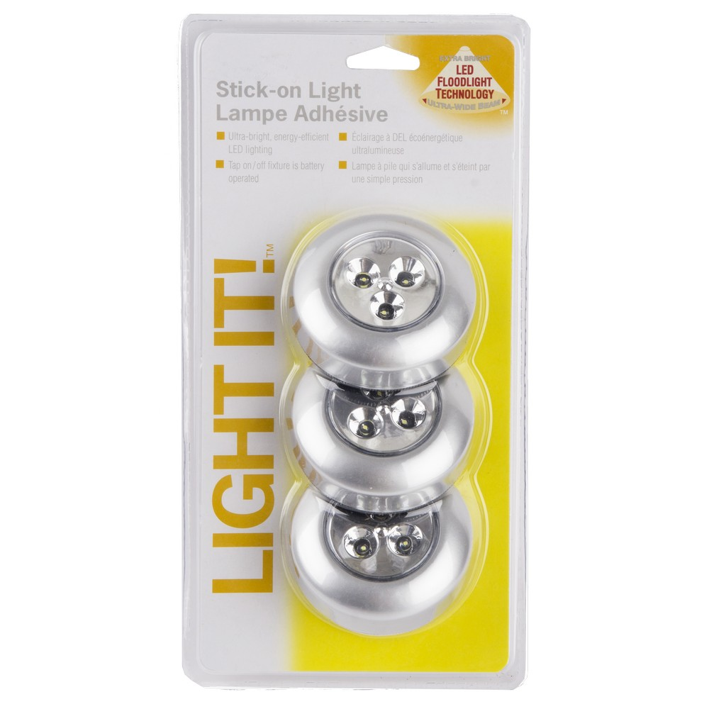 adhesiva 3 Lámpara piezas led WEDHI29