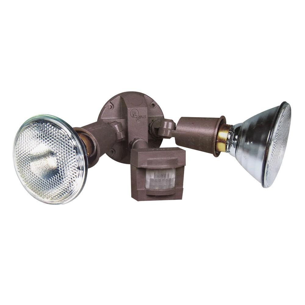 Lámpara detectora de movimiento gris