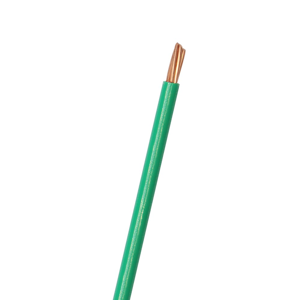 Cable eléctrico thhn 6 verde