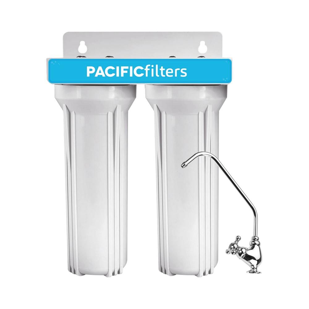Filtro para agua doble completo con llave