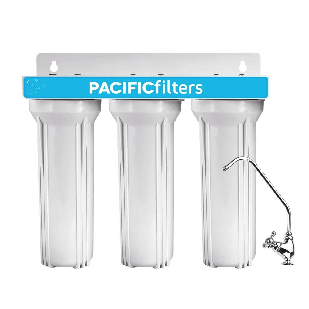 Filtro para agua triple completo con llave