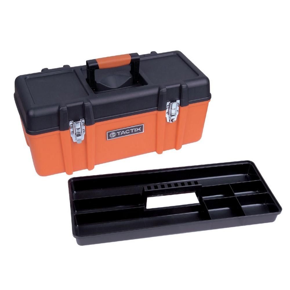 Caja para herramienta plástica de 23 pulgadas