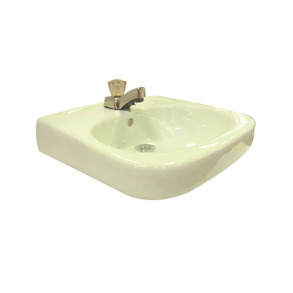 Lavamanos sin pedestal blanco