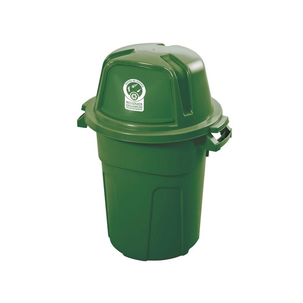 Basurero plastico para reciclar 100 l