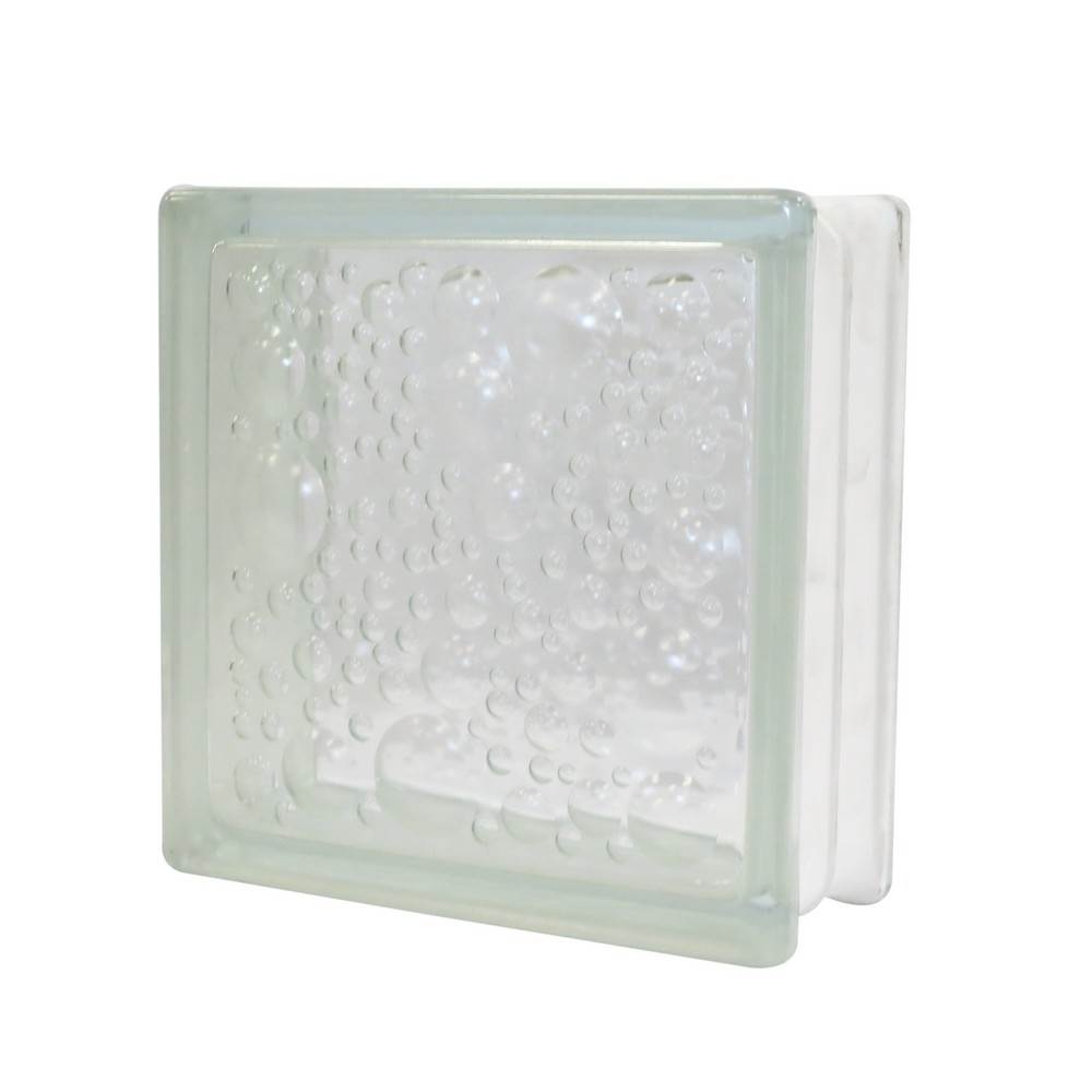 Bloque de vidrio 190x190x80 mm