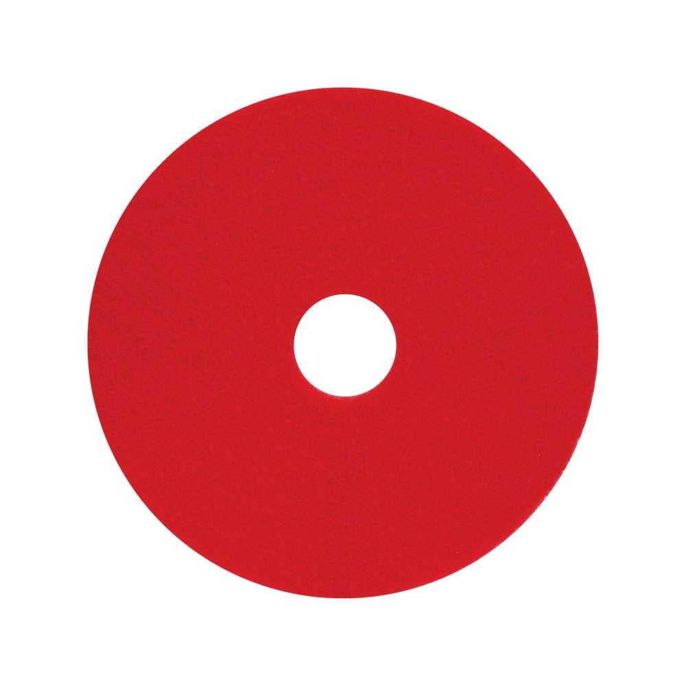 Disco para pulidora de piso 20 pulg rojo