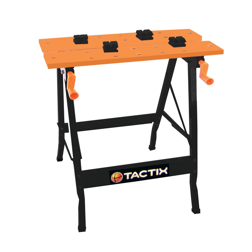 mesa plegable para trabajo banquitos tactix