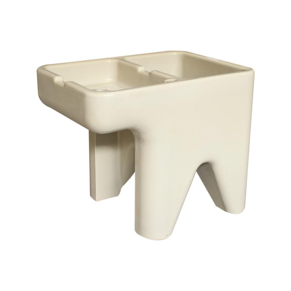 Pila pl stica de 1 poceta izquierda color beige - Pilas lavadero pequenas ...