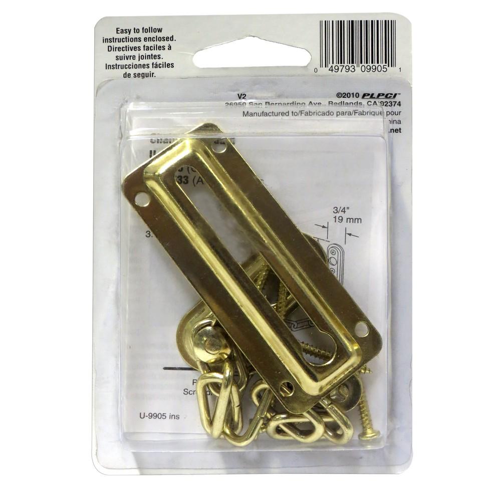 Cadena de seguridad dorada