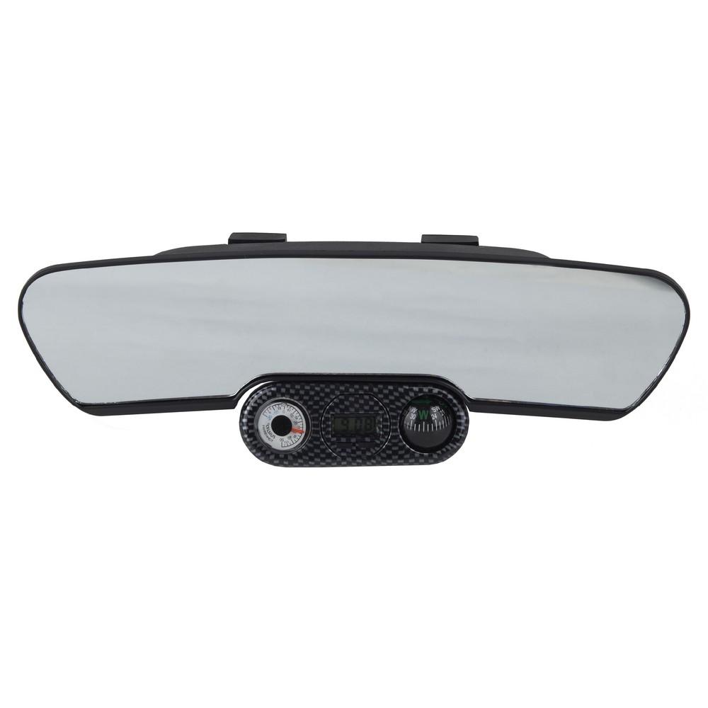 Espejo retrovisor interior con reloj espejos para carro for Espejo retrovisor interior