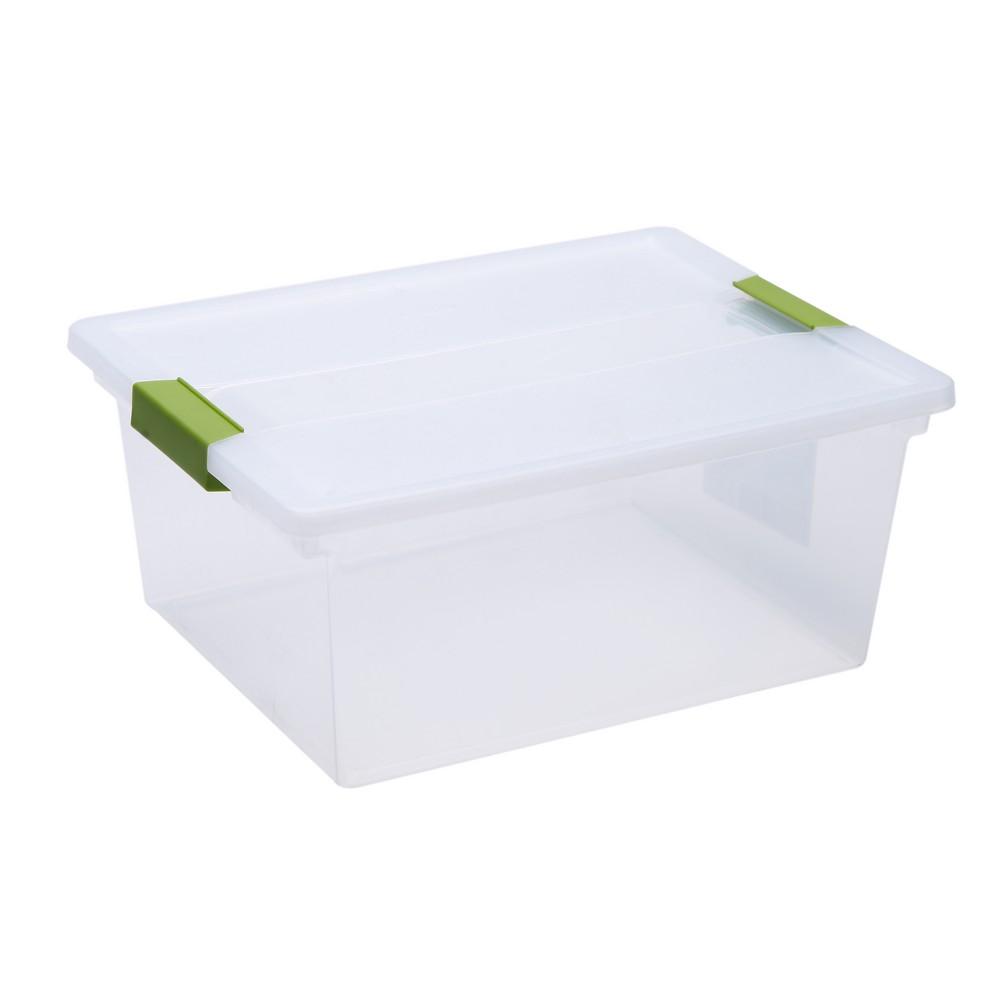 Caja organizadora plastica 10 l clip