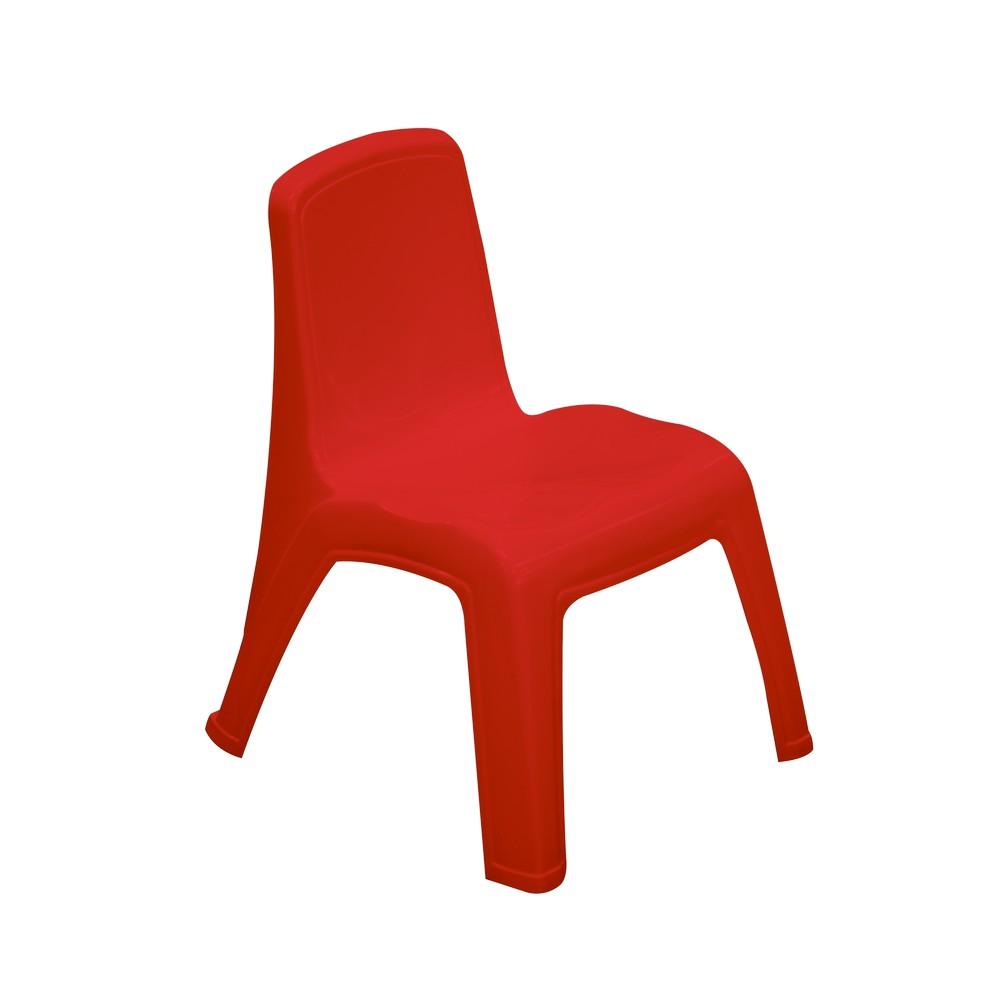 Silla Plastica Para Ninos Color Roja Sillas Rimax