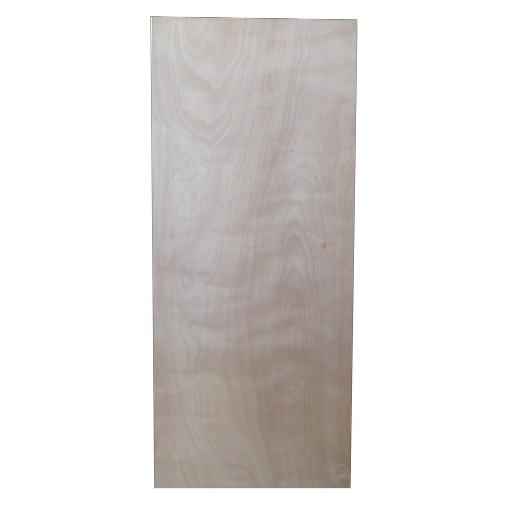 Puerta de plywood lisa 95x210 cm