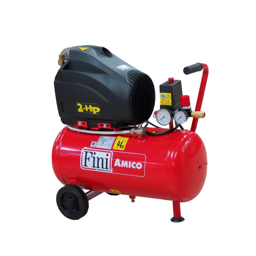 Compresor 2 hp/120v 6gal 116 psi amico25