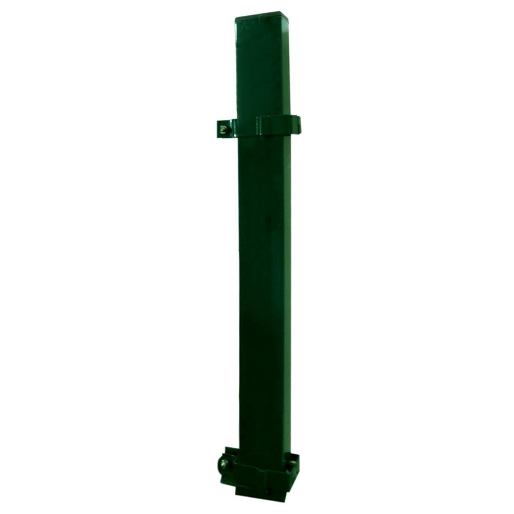 Poste para reja verde 2.50 mt