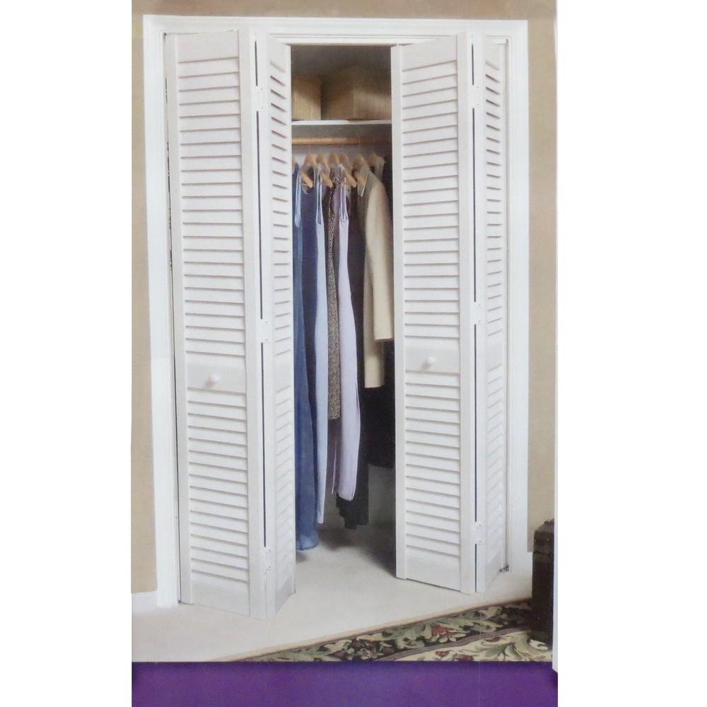Puerta para closet de pvc color blanca - Puerta plegable de pvc ...