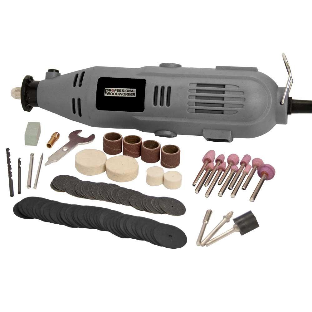 Kit de herramienta rotativa y accesorios, set de 100 piezas.