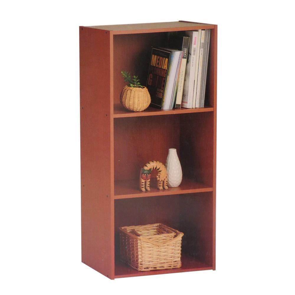 Mueble librera de 3 estantes madera