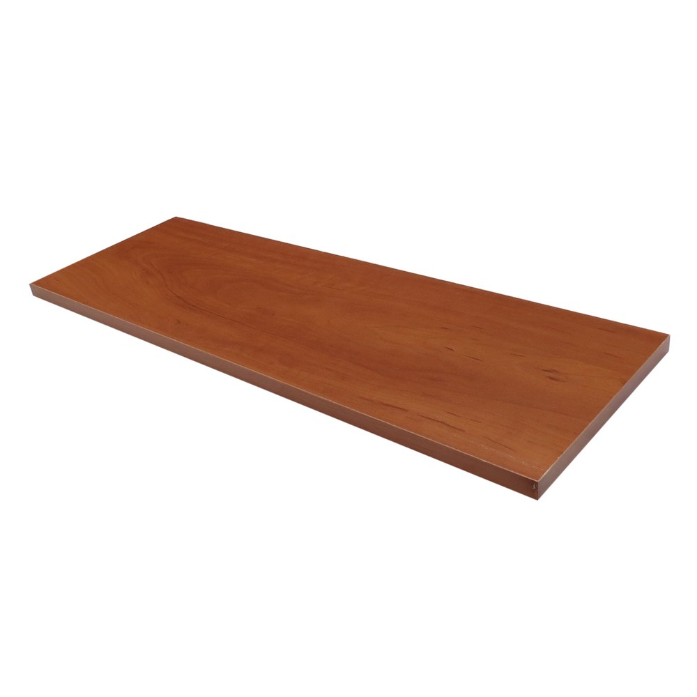 Repisa de madera recta cherry 30 x 60 cm