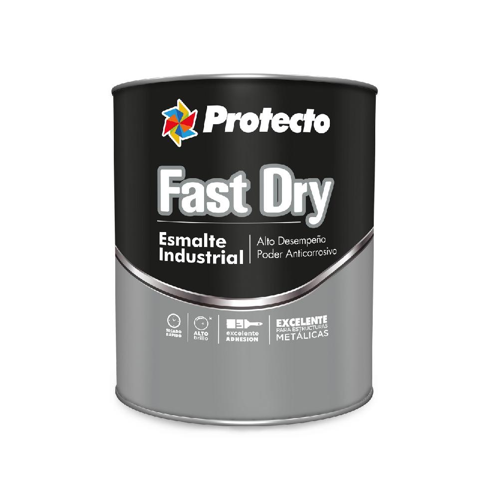 Esmalte industrial fast dry amarillo cater qto