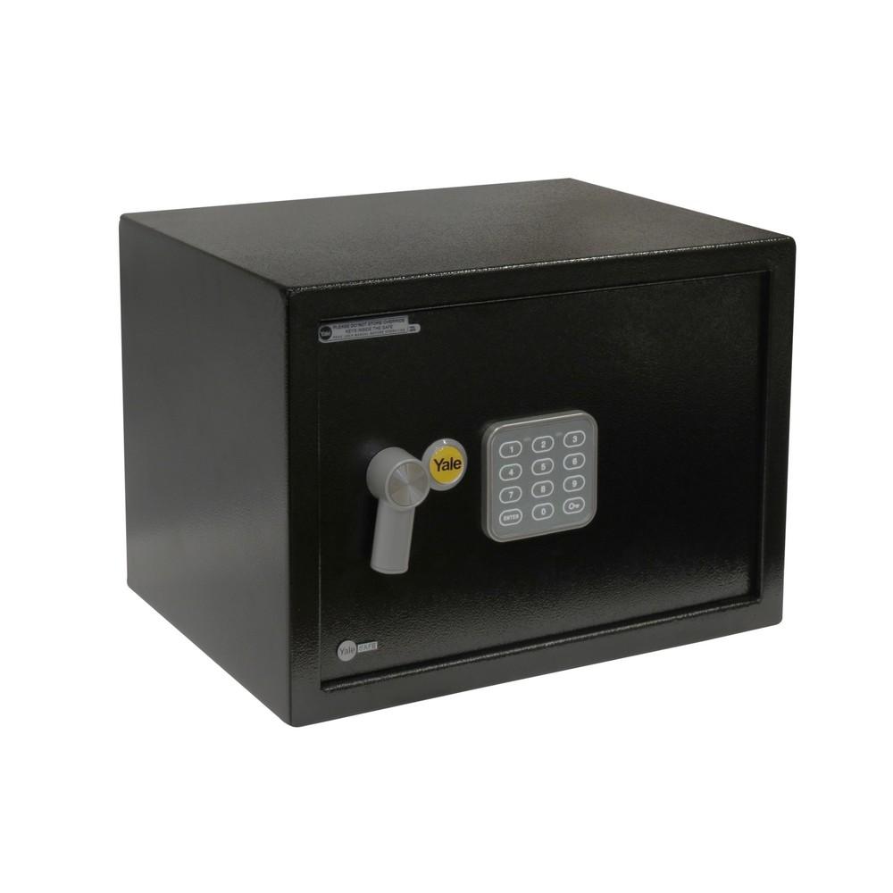 Caja fuerte electrónica de 25 x 35 x 25 centímetros