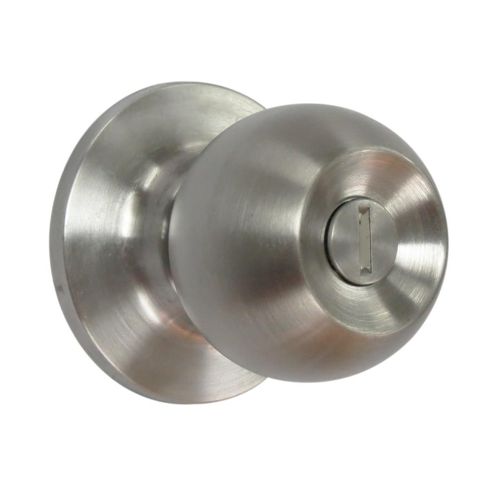 Cerradura para ba o bolton cerraduras de pomo yale for Cerradura para puerta de bano