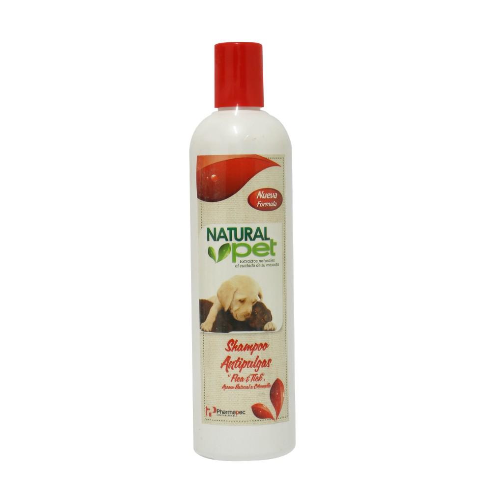 Shampoo para perro antipulgas
