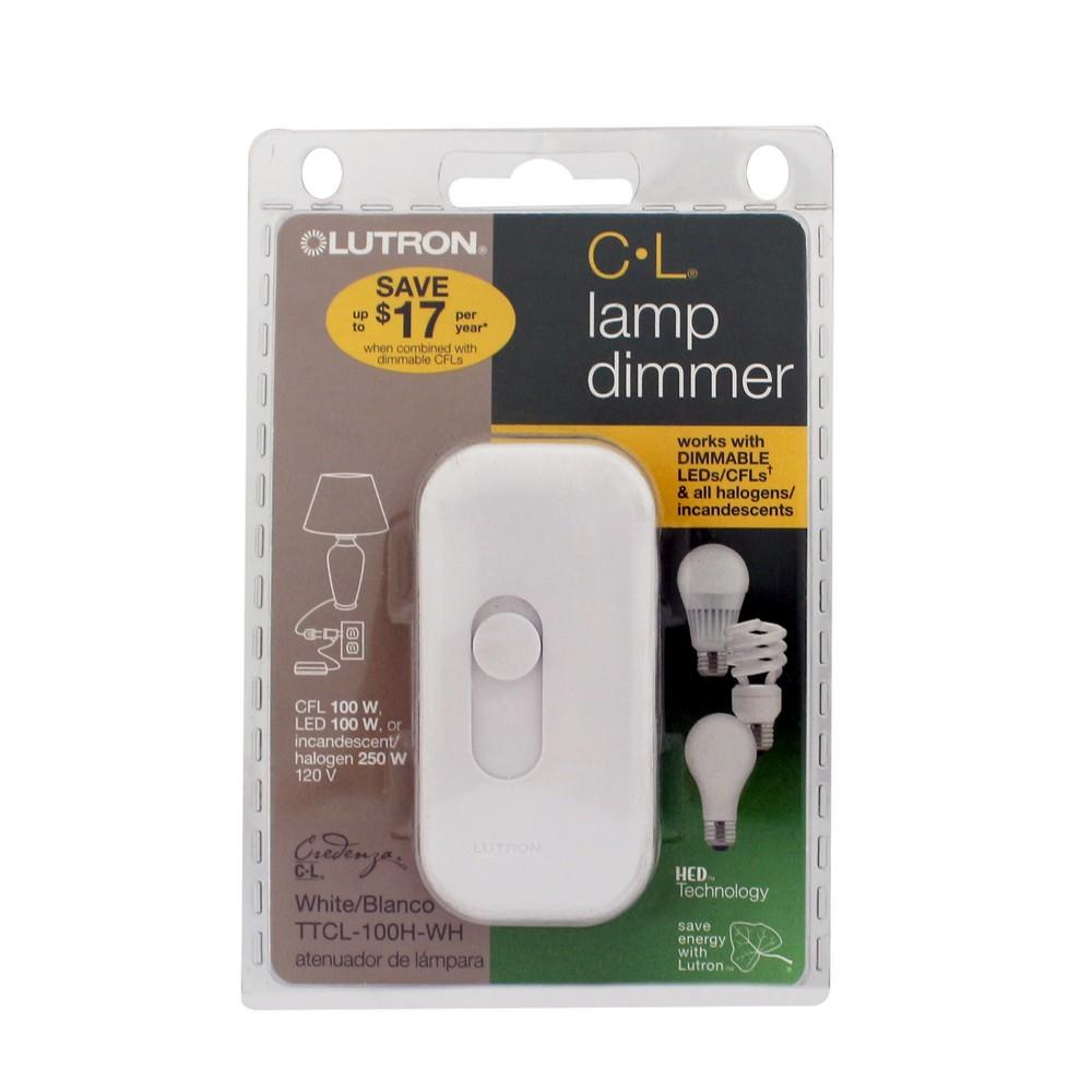 Dimmer cfl y led 100w 120v lutron 3367166