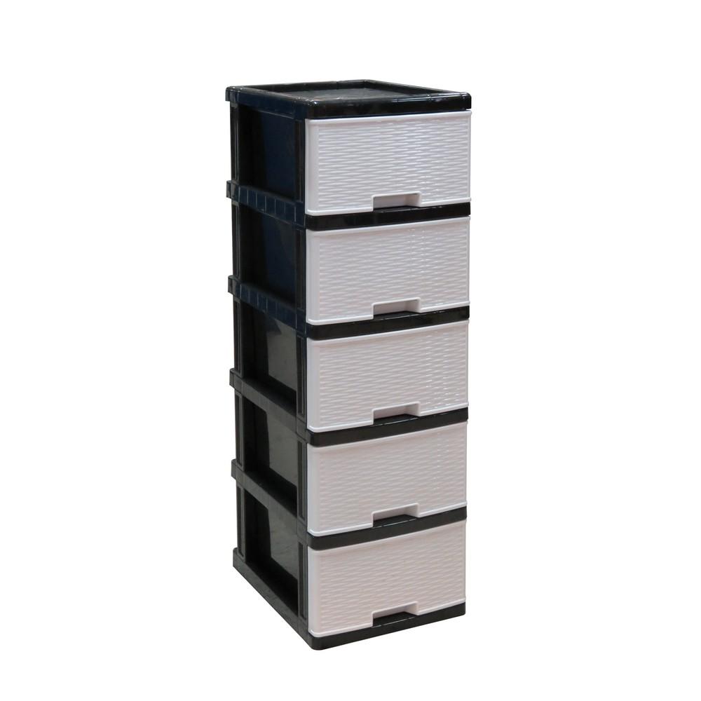 Organizador pl stico 5 gavetas - Organizador de bolsas de plastico ...