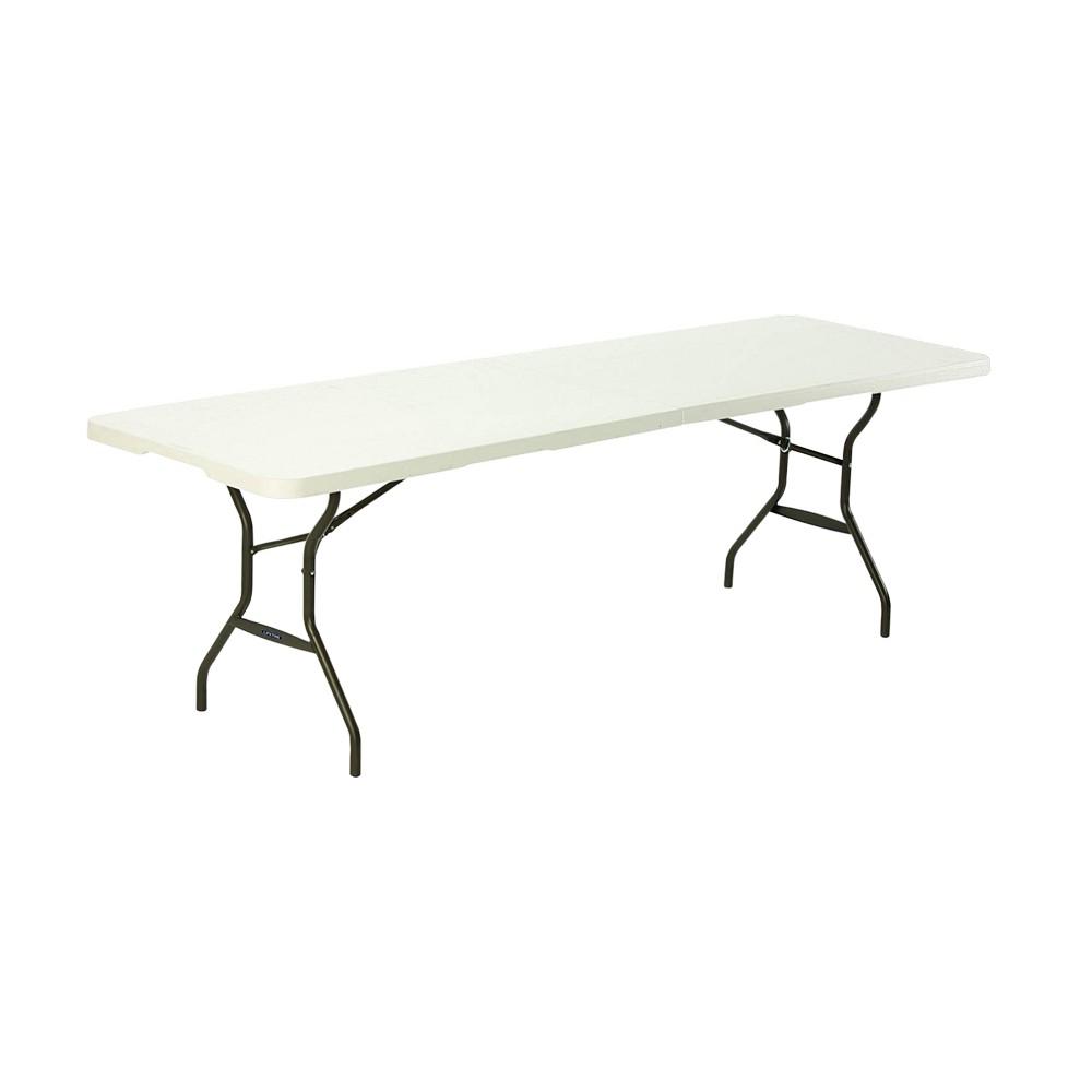Mesa plástica plegable de 8 pies