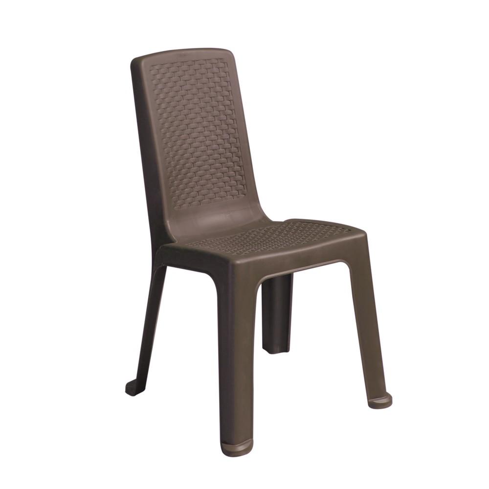 Silla pl stica sin brazo sillas rimax for Sillas plasticas plegables