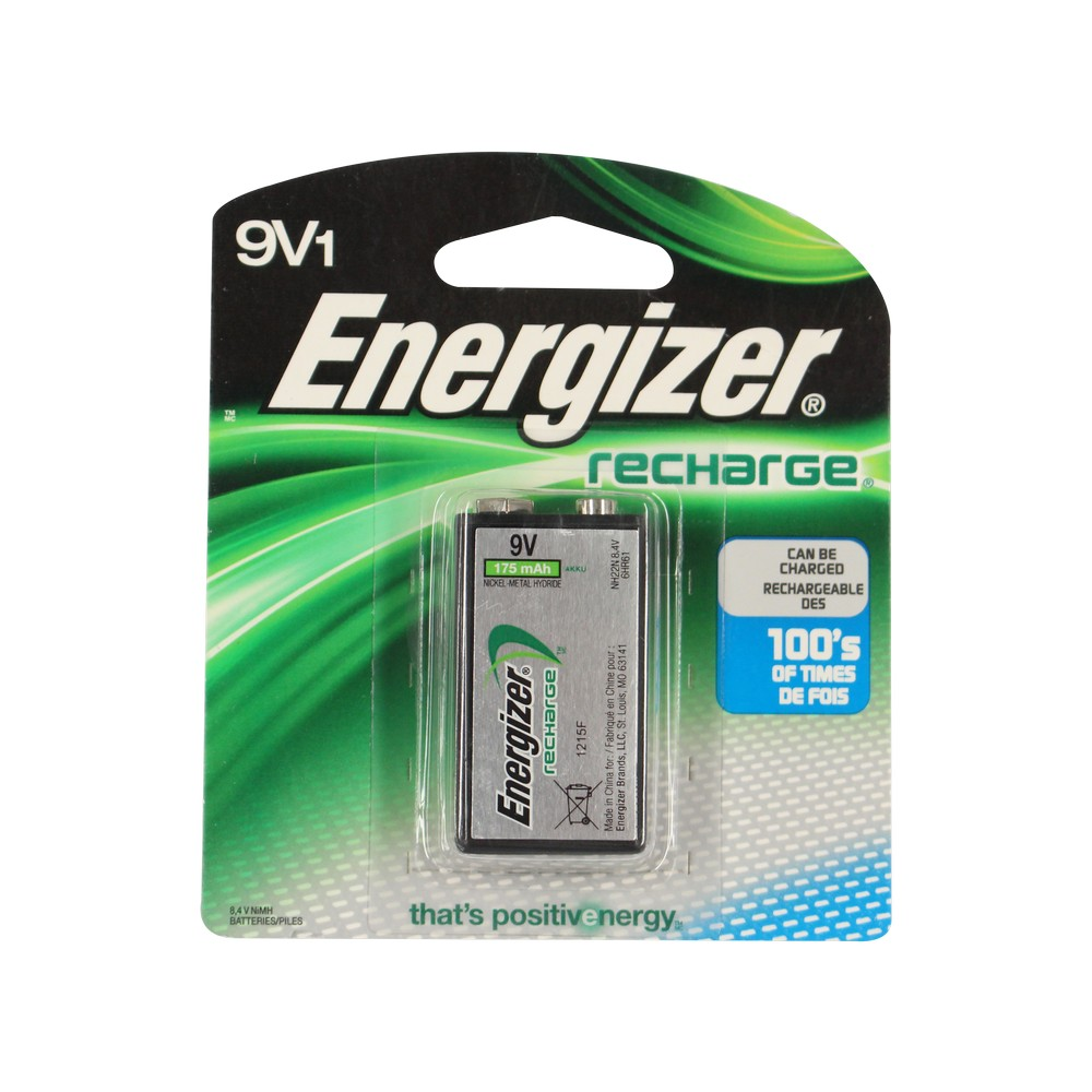 Bateria recargable 9v energizer nh22nbp