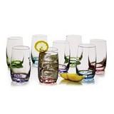 Set de vasos de vidrio 8 pzas