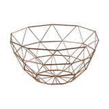 CESTA PARA FRUTA ROSE GOLD ELLE DECOR ELD33041