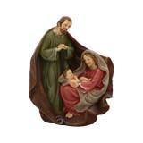 NACIMEINTO SAGRADA FAMILIA 16.2X8.8X20CM 2785-25806A