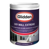 Impermeabilizante para pared blanco/base pastel dry wall extreme 4 ltrs