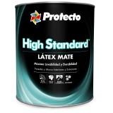 PINTURA LATEX MATE HIGH STANDARD BLANCO QTO