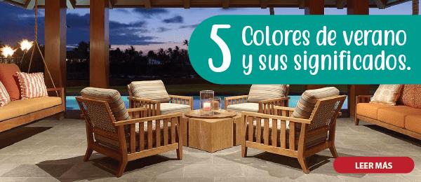 5 COlORES DE VERANO Y SU SIGNIFICADO