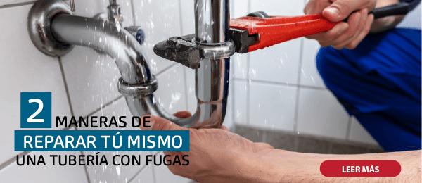 2 MANERAS DE REPARAR TU TUBERÍA SI TIENE FUGA